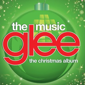 glee cast christmas