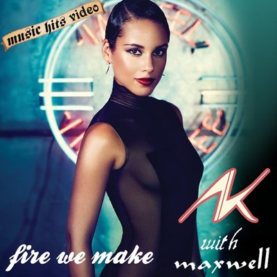 Alicia Keys with Maxwell - Fire We Make
