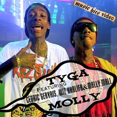 Tyga feat. Wiz Khalifa, Mally Mall & Cedric Gervais - Molly